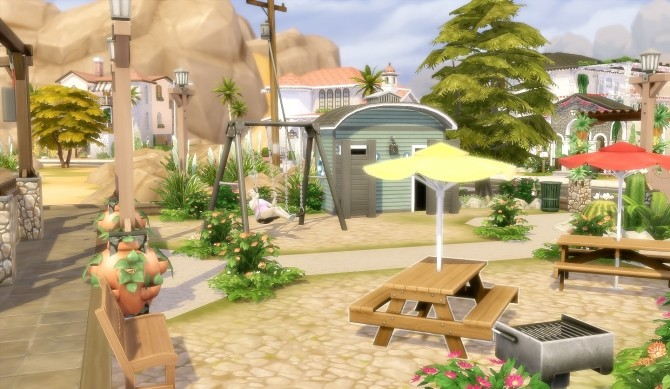 Suburban Park Oasis Springs at Via Sims image 1694 670x389 Sims 4 Updates
