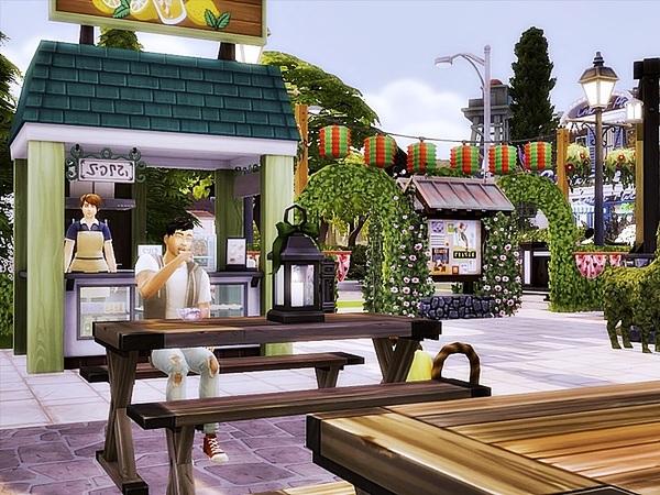 Sims 4 Vintage Park by Danuta720 at TSR