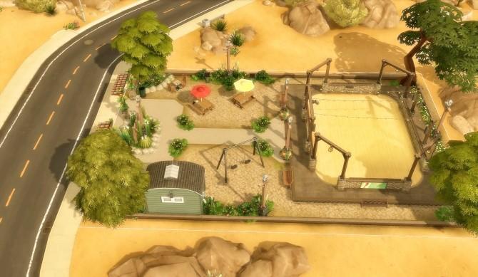 Suburban Park Oasis Springs at Via Sims image 1703 670x389 Sims 4 Updates