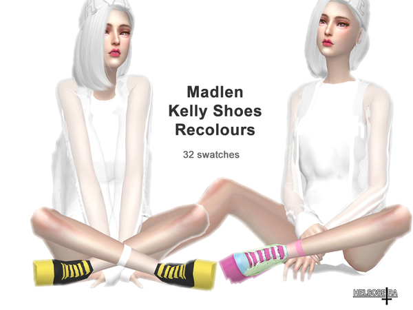 Madlen Kelly Shoes Recolour by Helsoseira at TSR image 1719 Sims 4 Updates