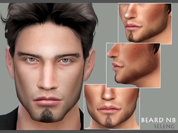 Beard N8 by Seleng at TSR image 1725 Sims 4 Updates