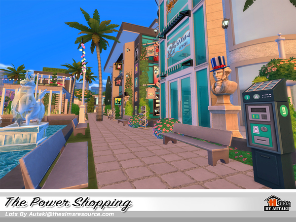 The Power Shopping by autaki at TSR image 1730 Sims 4 Updates