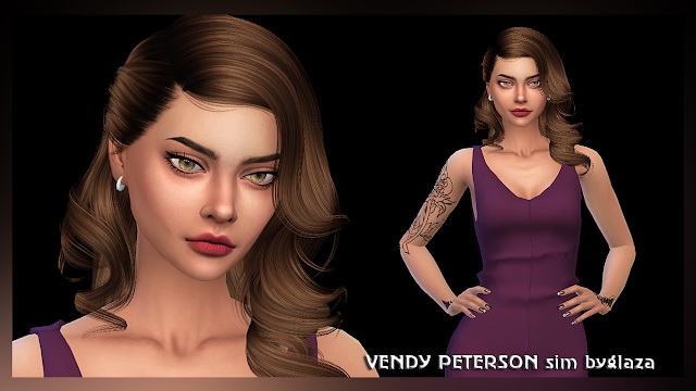 VENDY PETERSON at All by Glaza image 1742 Sims 4 Updates