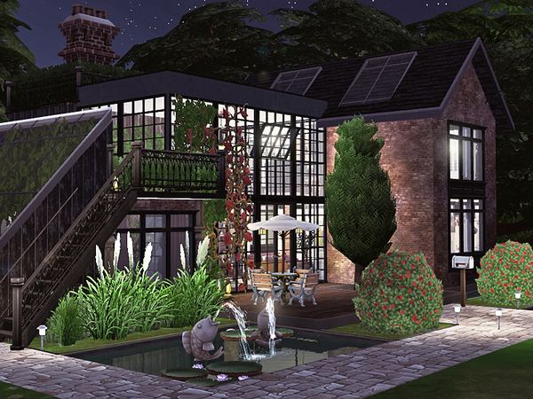 Sims 4 Verdell home by Rirann at TSR