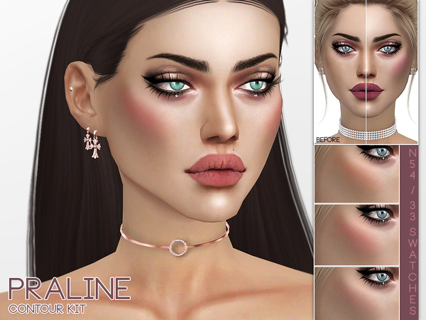 Contour Kit N54 by Pralinesims at TSR image 176 Sims 4 Updates
