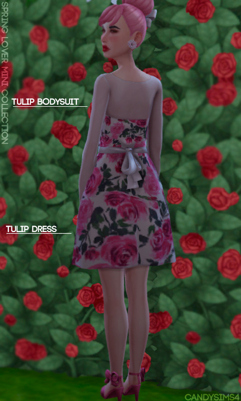 SPRING LOVER MINI COLLECTION at Candy Sims 4 image 1761 Sims 4 Updates