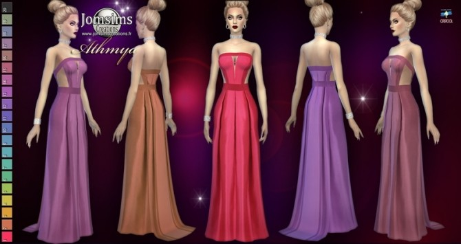 Athmya dress at Jomsims Creations image 1762 670x355 Sims 4 Updates