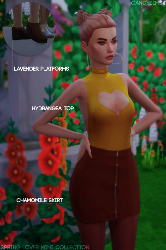 Sims 4 SPRING LOVER MINI COLLECTION at Candy Sims 4