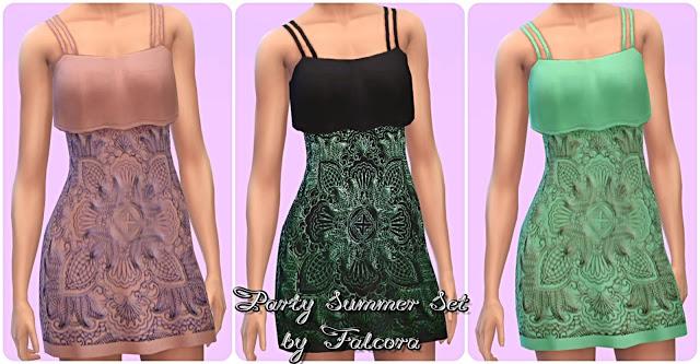 Party Summer Set 11x at Petka Falcora image 1791 Sims 4 Updates