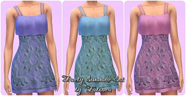 Party Summer Set 11x at Petka Falcora image 1801 Sims 4 Updates