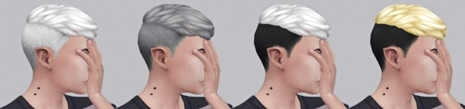 Sims 4 SIMDUCTION'S FELIX HAIR RECOLOR at Wyatts Sims