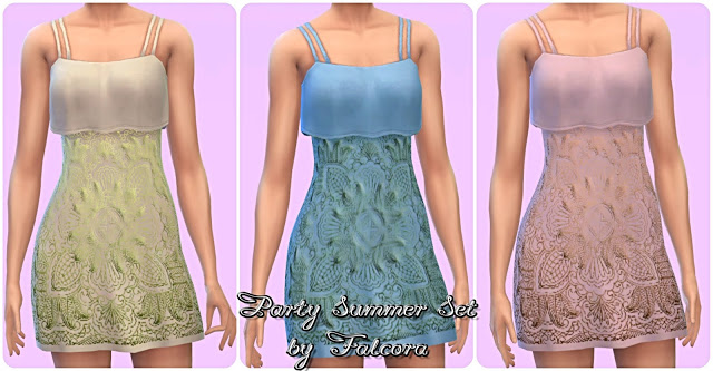 Party Summer Set 11x at Petka Falcora image 1812 Sims 4 Updates