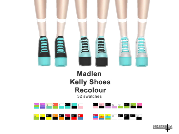 Madlen Kelly Shoes Recolour by Helsoseira at TSR image 1818 Sims 4 Updates