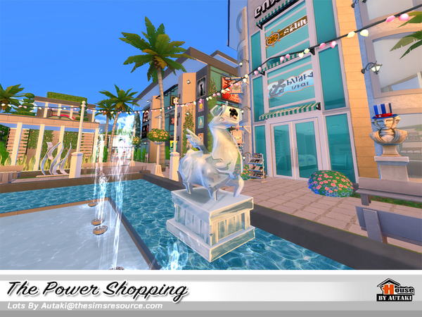 The Power Shopping by autaki at TSR image 1829 Sims 4 Updates