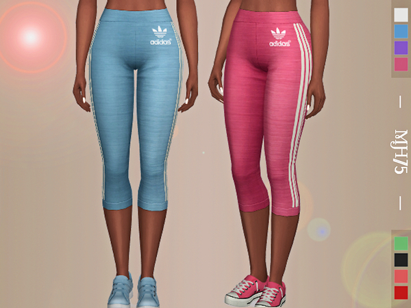 Turn It Up Leggings by Margeh 75 at TSR image 1830 Sims 4 Updates