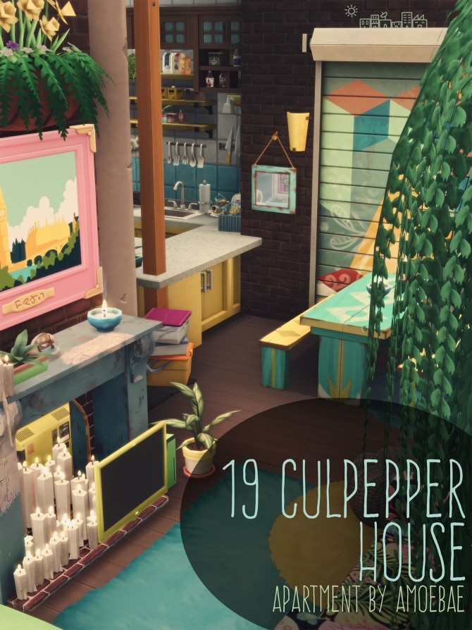 19 Culpepper House At Picture Amoebae 187 Sims 4 Updates
