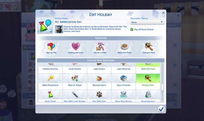 Pet Themed Holiday Traditions by icemunmun at Mod The Sims image 1875 670x400 Sims 4 Updates