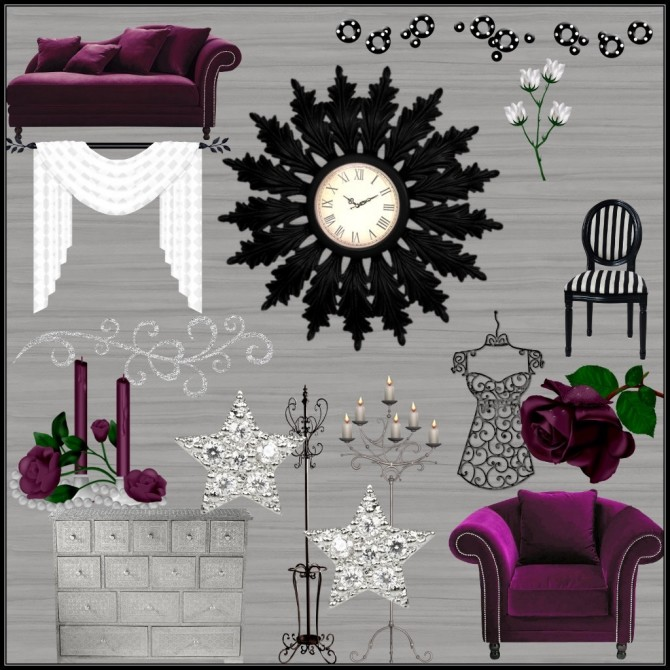 Ladies Night 30 Wall Decals at TaTschu`s Sims4 CC image 1921 670x670 Sims 4 Updates