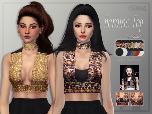 Top by Trillyke at TSR image 1927 Sims 4 Updates