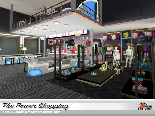 The Power Shopping by autaki at TSR image 1929 Sims 4 Updates
