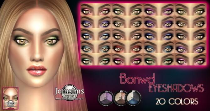 Bonwd & Fluzio eyeshadows at Jomsims Creations image 1943 670x355 Sims 4 Updates
