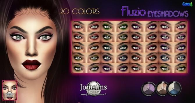 Bonwd & Fluzio eyeshadows at Jomsims Creations image 1954 670x355 Sims 4 Updates