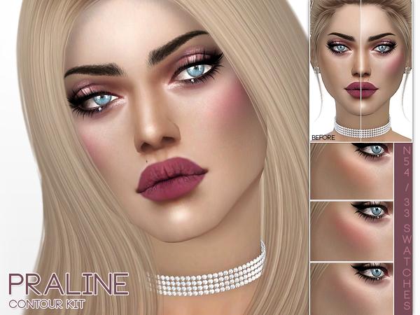 Contour Kit N54 by Pralinesims at TSR image 196 Sims 4 Updates