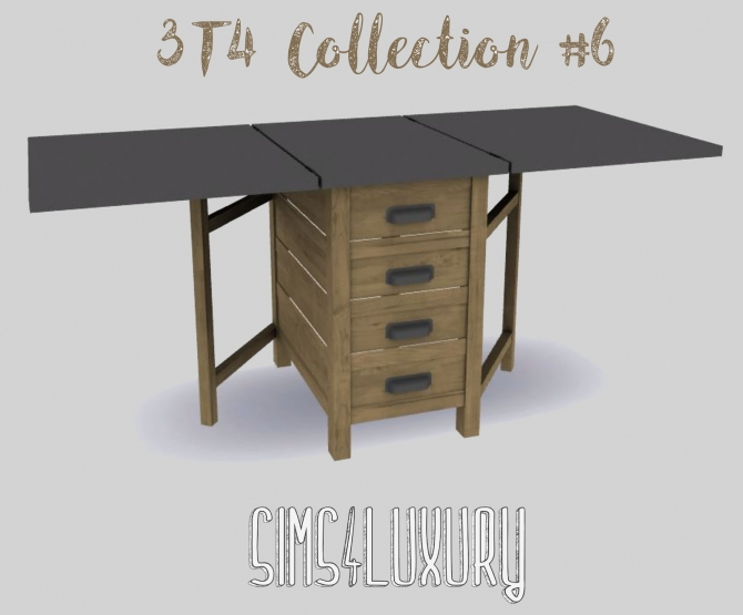 3t4 Collection 6 At Sims4 Luxury 187 Sims 4 Updates