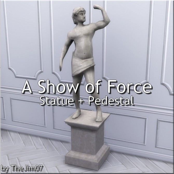 Sims 4 A Show of Force from TS3 by TheJim07 at Mod The Sims