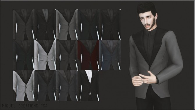 Sims 4 GENTLEMAN SUIT at Victor Miguel