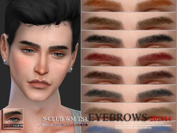 Eyebrows 201814 by S Club WM at TSR image 2013 Sims 4 Updates