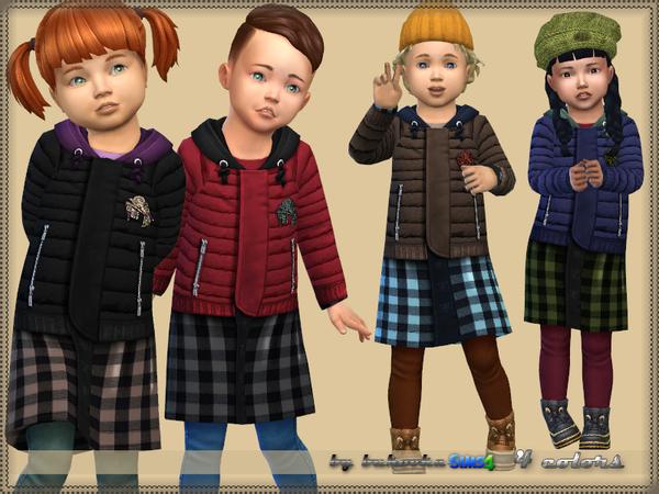 Coat Toddler 2 by bukovka at TSR image 2026 Sims 4 Updates