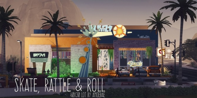 SKATE, RATTLE & ROLL club at Picture Amoebae image 2031 670x335 Sims 4 Updates