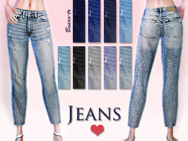 JeansX by busra tr at TSR image 2109 Sims 4 Updates