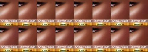 GPME Shimmer Blush Darkskin at GOPPOLS Me image 2171 Sims 4 Updates