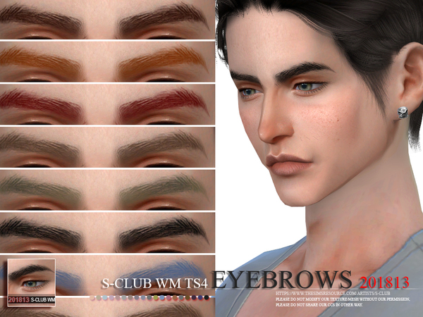 Eyebrows 201813 by S Club WM at TSR image 219 Sims 4 Updates