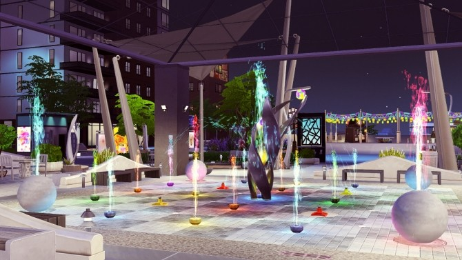Uptown Splash Park at Jenba Sims image 2231 670x377 Sims 4 Updates