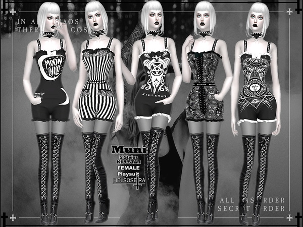 Sims 4 MUNI Outfit by Helsoseira at TSR