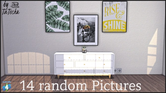 Sims 4 Picture Collection at TaTschu`s Sims4 CC