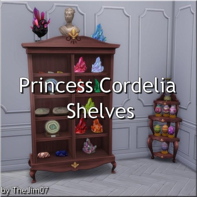 Princess Cordelia Shelves by TheJim07 at Mod The Sims image 2263 670x670 Sims 4 Updates