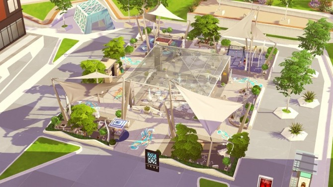 Uptown Splash Park at Jenba Sims image 2271 670x377 Sims 4 Updates