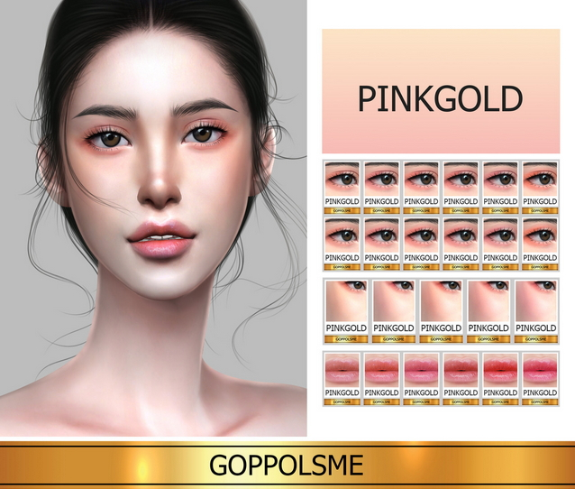 Sims 4 GPME GOLD Pink Gold Collection at GOPPOLS Me