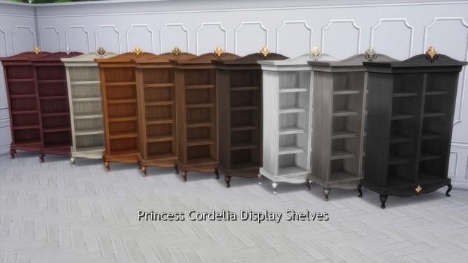 Princess Cordelia Shelves by TheJim07 at Mod The Sims image 2283 670x377 Sims 4 Updates