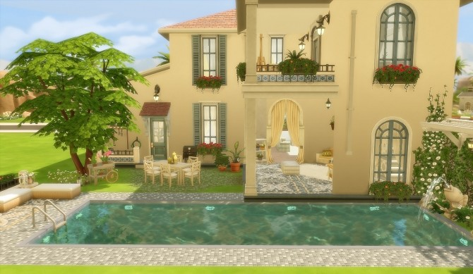 House 49 Oasis Springs at Via Sims image 2321 670x389 Sims 4 Updates