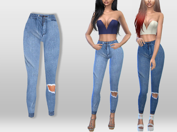 Denim Jeggings by Puresim at TSR image 2327 Sims 4 Updates