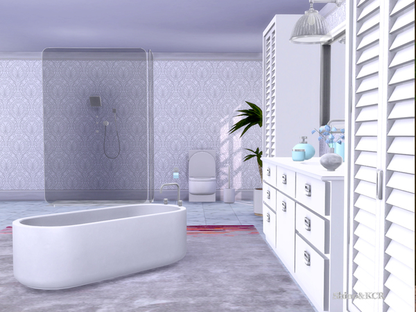 Bathroom Delight by ShinoKCR at TSR image 233 Sims 4 Updates