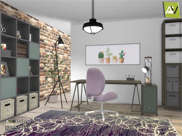 Jenna Office by ArtVitalex at TSR image 237 Sims 4 Updates