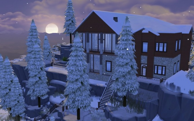 Winter Mountain Lodge by catdenny at Mod The Sims image 2422 670x419 Sims 4 Updates