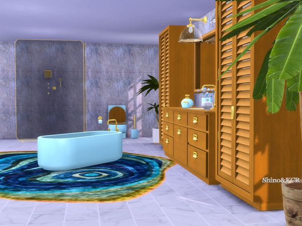 Bathroom Delight by ShinoKCR at TSR image 243 Sims 4 Updates
