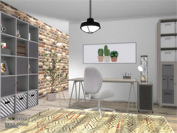 Jenna Office by ArtVitalex at TSR image 247 Sims 4 Updates